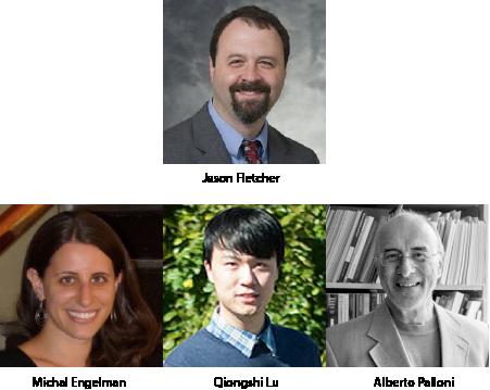 Profiles of Jason Fletcher, Michal Engelman, Qiongshi Lu, Alberto Palloni