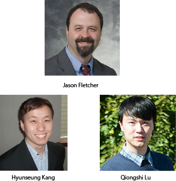 Profiles of Jason Fletcher, Hyunsang Kang, Qiongshi Lu