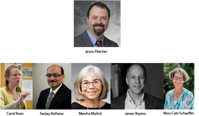 Profiles of Jason Fletcher, Carol Roan, Sanjay Asthana, Marha Mailick, James Raymo, and Nora Cate Schaeffer