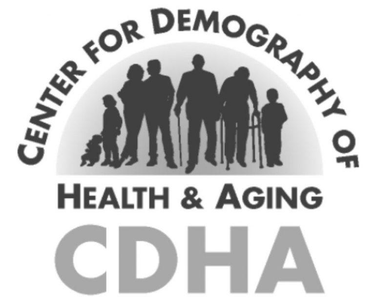 Black and white CDHA logo.