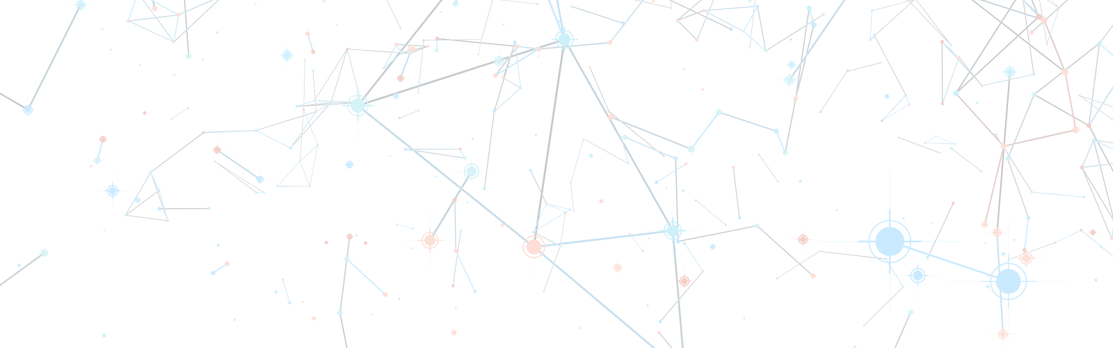 Scattered dots connected by lines.